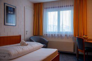 Einzelzimmer der Alpenlodge