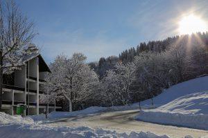 Winter in Obersaxen